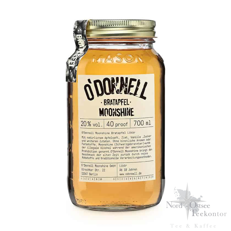 O´Donnell Moonshiner - Bratapfel  700 ml