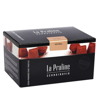 La Praline Chocolate Truffles Natural 200 g