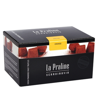 La Praline Chocolate Truffles Orange 200 g